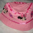 Baby / toddler hat with appliqued Mini Mouse and flowers- ekho1h
