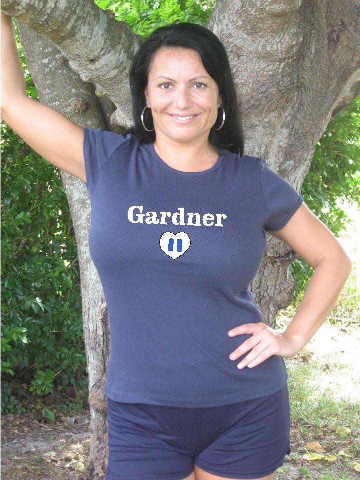 """Womens """"Brett Gardner"""" Yankees T Shirt Jersey S-XXL"""