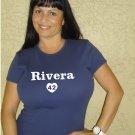 """Womens """"Mariano Rivera"""" Yankees T Shirt Jersey S-XXL"""