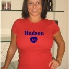 "Womens ""Tim Hudson"" Braves T Shirt Jersey S-XXL"