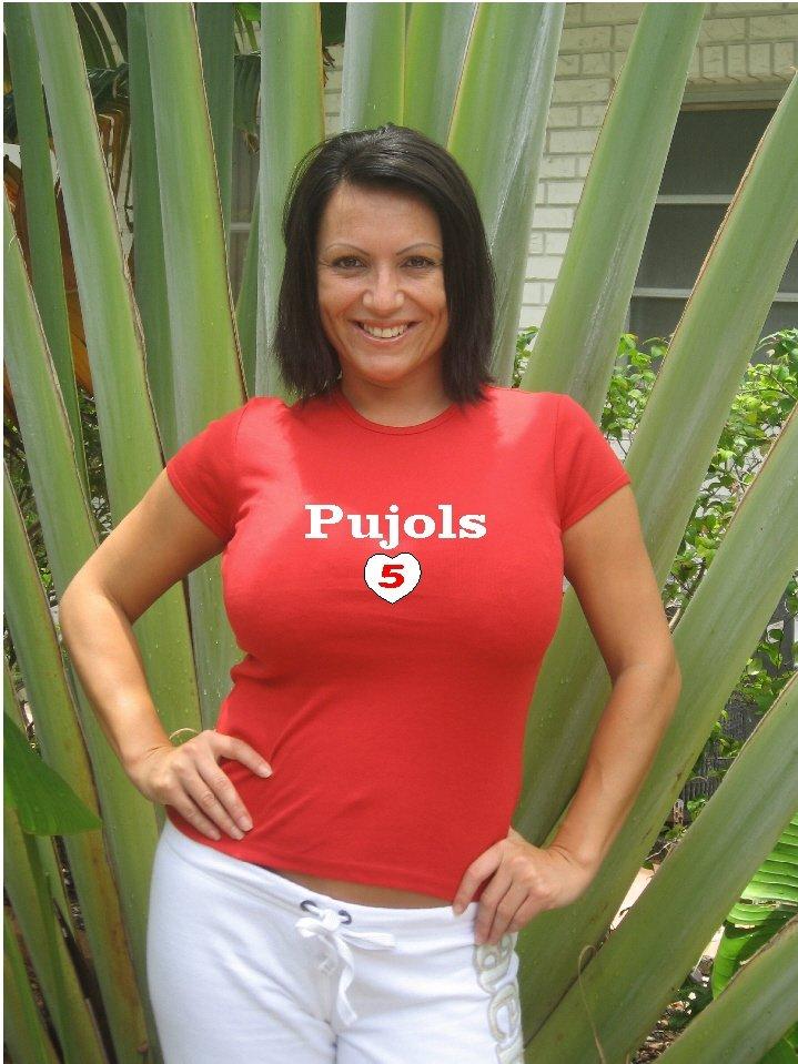 """Womens """"Albert Pujols"""" Cardinals T Shirt Jersey S-XXL"""