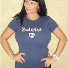 """Womens """"Ben Zobrist"""" Rays T Shirt Jersey S-XXL"""