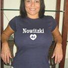"""Womens """"Dirk Nowitzki """" Mavericks T Shirt Jersey S-XXL"""