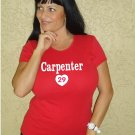 "Womens ""Chris Carpenter"" Cardinals T Shirt Jersey S-XXL"