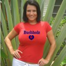 "Womens ""Clay Buchholz"" Red Sox T Shirt Jersey S-XXL"