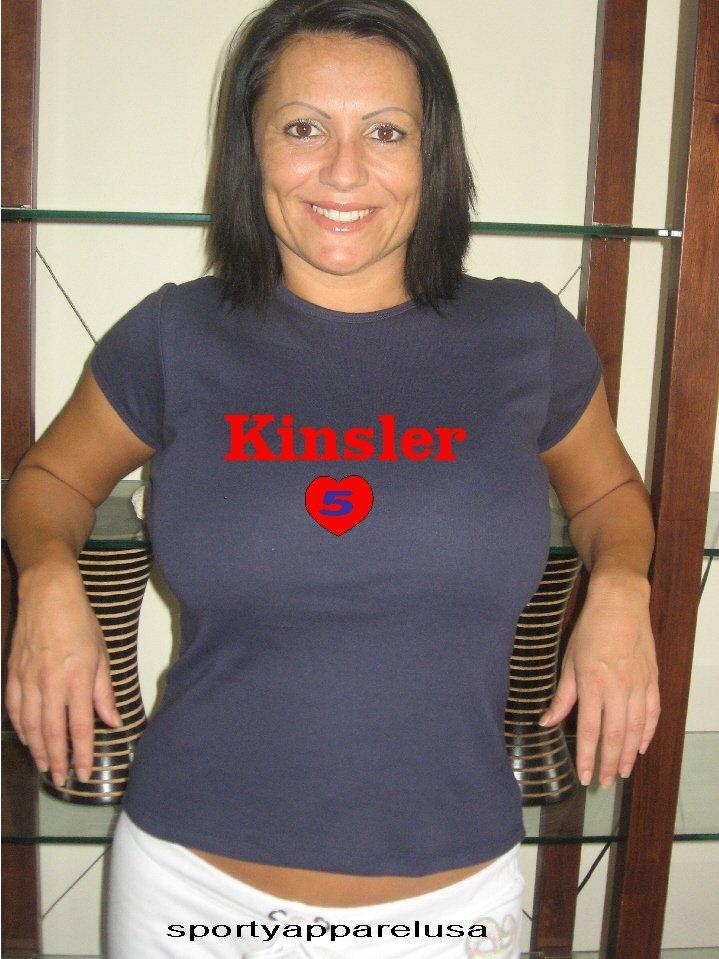 """Womens """"Ian Kinsler"""" Rangers T Shirt Jersey S-XXL"""