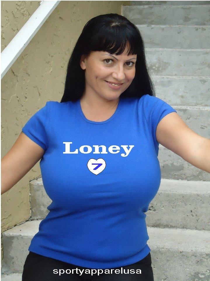 """Womens """"James Loney"""" Dodgers T Shirt Jersey S-XXL"""
