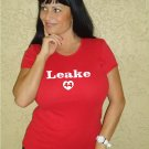 "Womens ""Mike Leake"" Reds T Shirt Jersey S-XXL"