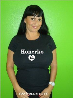"Womens ""Paul Konerko"" White Sox T Shirt Jersey S-XXL"