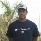 """Got Berra ?"" Yankees Throwback T Shirt Jersey Yogi"