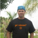 """Got Robinson ?"" Orioles Throwback T Shirt Jersey Brooks"