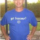 "Mens ""Got Francoeur ?"" Royals T Shirt Jersey Jeff S-XXL"