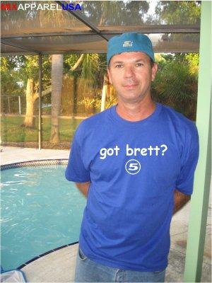 "Mens ""Got George Brett ?"" Royals Throwback T Shirt Jersey S-XXL"