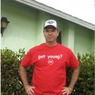 "Mens ""Got Young ?"" Rangers T Shirt Jersey Michael S-XXL"