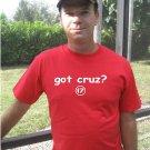 """Mens """"Got Cruz ?"""" Rangers T Shirt Jersey Nelson S-XXL"""