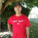 "Mens ""Got Lee ?"" Phillies T Shirt Jersey Cliff S-XXL"