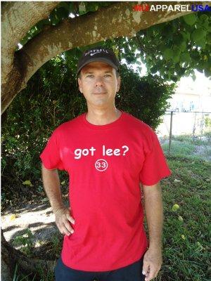 """Mens """"Got Lee ?"""" Phillies T Shirt Jersey Cliff S-XXL"""