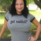 "Womens ""Got Roddick ?"" Tennis T Shirt Andy S-XXL"
