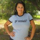 """Womens """"Got Wozniacki ?"""" Tennis T Shirt Caroline S-XXL"""