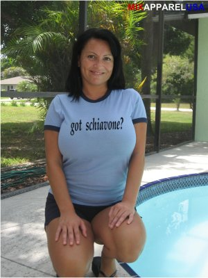 "Womens ""Got Schiavone ?"" Tennis T Shirt Francesca S-XXL"