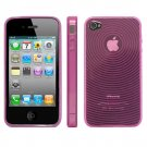 Kroo MAGENTA Target Flex Series for iPhone 4