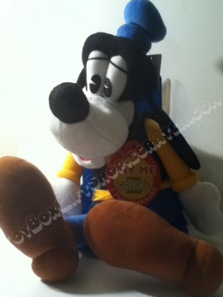"New Disney It's Goofy! Talking Pals18 1/2"" Plush Character Direct Toy"