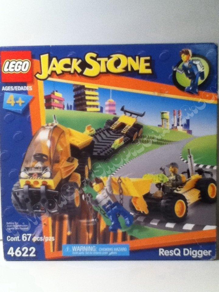 LEGO 4622 Jack Stone ResQ Digger 67 Pc Set Construction Build Set Hours of Imaginary Play #JackStone