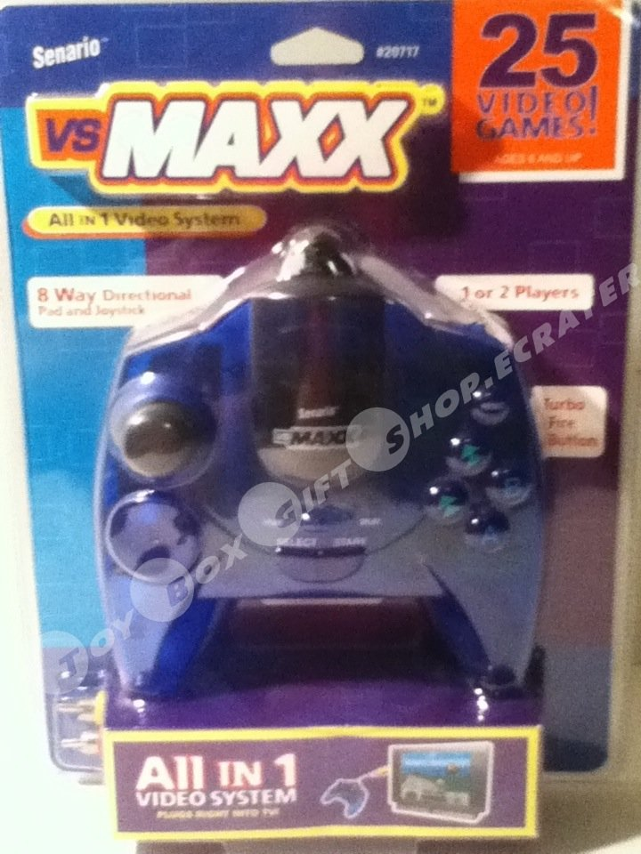 25 in 1 VS MAXX Senario Video Game System Just Plug n Play