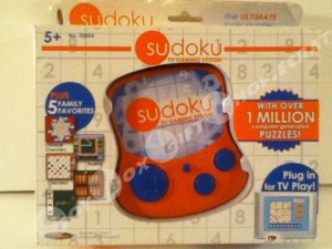 Sudoku TV Gaming System Over 1 Million Puzzles Beginner and Advanced Modes Plus 5 Family Favorites