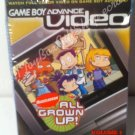 Nickelodeon All Grown Up! 2 Episodes: Susie, Coup De Ville Game Boy Advance GBA Video Volume 1
