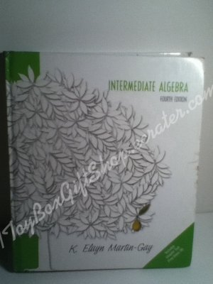 Intermediate Algebra w CD Ch Prep Video by K Elayn Martin-Gay Ed 4  05 ISBN 9780131918443