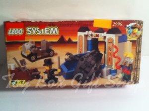LEGO 2996 Adventurers Tomb Set 1998 LEGO System The Lost Tomb Rare Egyptian Desert  Retired set