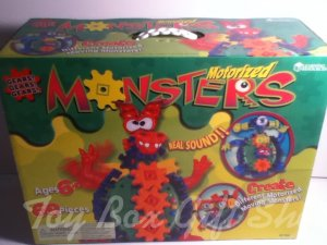 Real Sound Motorized Monsters Create Motorized Moving #Monsters Gears!Gears!Gears Learning Resources