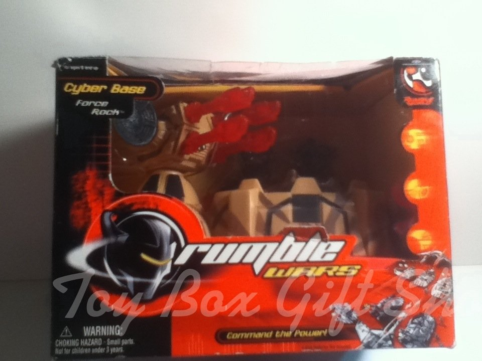 Motorized Laser Cannon &Troopers Rumble Wars Cyber Base-Force Rock  Command the Power Action