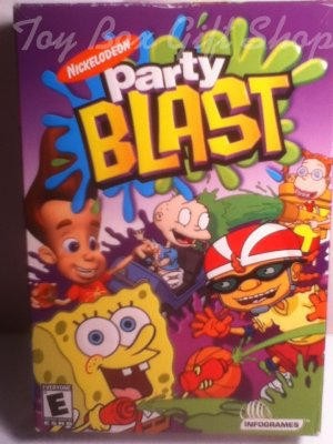 Party Blast Nickelodeon CD-ROM Get Ready�It�s the Wildest Party Ever! SpongeBob & More