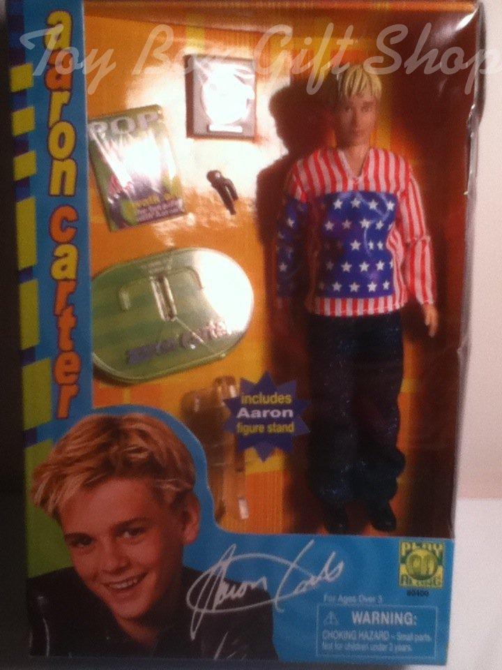 Aaron Carter Doll Collectible Young Singing Sensation with Mic Replica Award Play Along rare