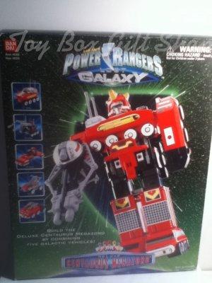 Power Rangers Lost Galaxy Deluxe Centaurus Megazord Transform 5 Galactic Zords Ban Dai Rare