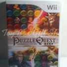 Puzzle Quest Challenge of the Warlords 150+ Quests Nintendo Wii  Video Game Rated E