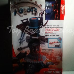 Robots the Movie Gasket�s Chop Shop Playset & Exclusive Fender Figure You Control the Action