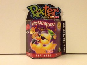 Pixter Deluxe Music Studio Software Enhanced Memory Expand your systemCreate Music & Sounds