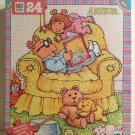 Arthur Reading to D.W. with Pal & Stuffed Friends PBS Arthur Puzzle Marc Brown Milton Bradley