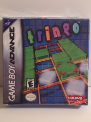 Tringo Game Boy Advance Combines Puzzle Games and Bingo Nintendo E Everyone