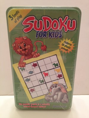 Sudoku For Kids Popular Puzzle in Colorful,Animal-Themed Ed. Teaches Colors, Counting &more Age 6&up
