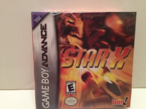 Star X GameBoy Advance GBA Nintendo BAM Entertainment Rated E rare