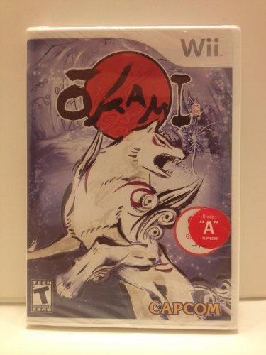 Okami Multiple Award Winner Wii Capcom Rated T Teen