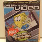 SpongeBob SquarePants Nicktoons Collection GBA Vol 2 Video 4 Episodes Nintendo GameBoy Advance