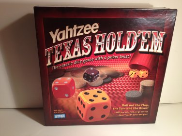Yahtzee Texas Hold�em Classic Dice Game with Poker Twist Game Night Fun Parker Bros