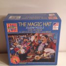 The Magic Hat Puzzle Within a Puzzle over 100 pcs Jigsaw #Puzzle Plus Magnifying Glass Ages 5 &above