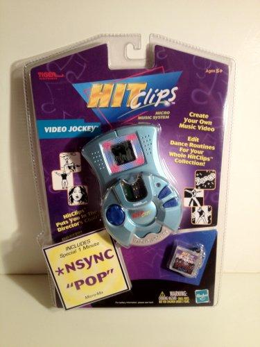 Hit Clips NSync Video Jockey Micro Music System includes �Pop� MicroMix Create&Edit HitClips
