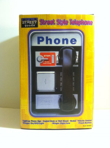 Street Goods Street Style Telephone Full Feature Any Room Light-Up